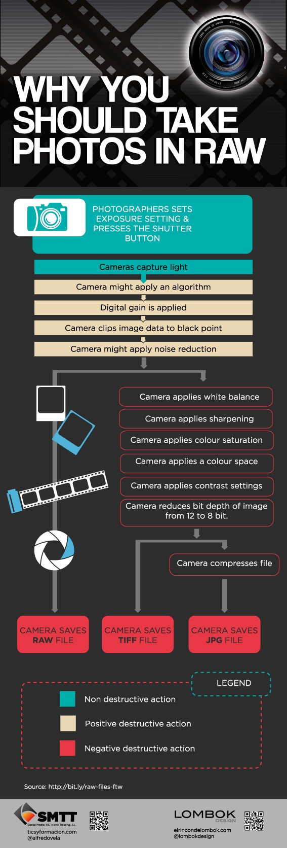 RAW vs. JPEG Infographic